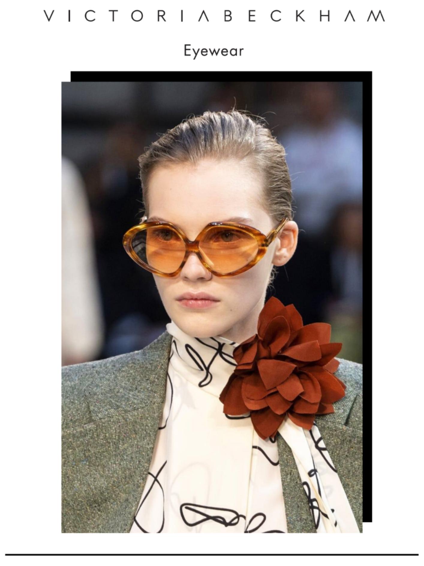 Imagem da notícia: Victoria Beckham apresenta um novo modelo de óculos