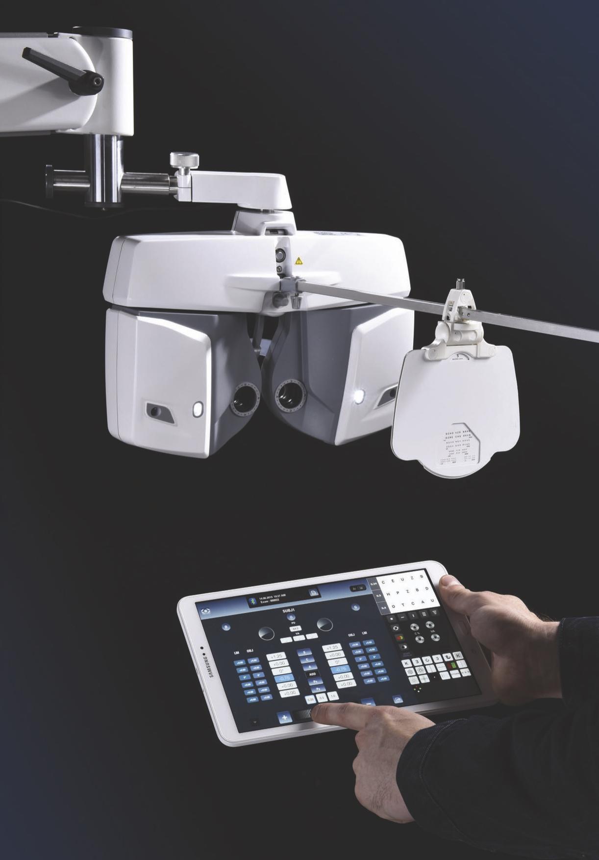 Imagem da notícia: Visionix VX65 da Luneau permite refração à distância