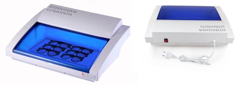 Imagem da notícia: CECOP apresenta esterilizador UV ao setor ótico