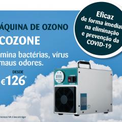 Imagem da notícia: SPJ apresenta equipamento de desinfeção por ozono