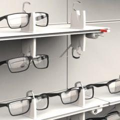 Imagem da notícia: concept-s apresenta SHELF LOCK, a horizontalidade na exposição de óculos