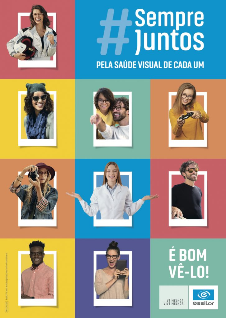 Imagem da notícia: Essilor cria campanha para mobilizar setor