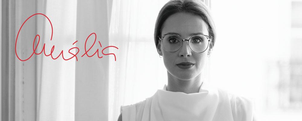 Imagem da notícia: Amália Eyewear: coleção clássica com traços de ousadia