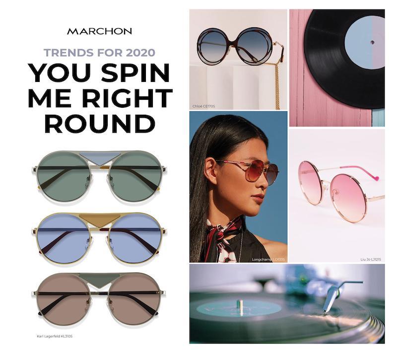 Imagem da notícia: Marchon revela tendências eyewear para 2020