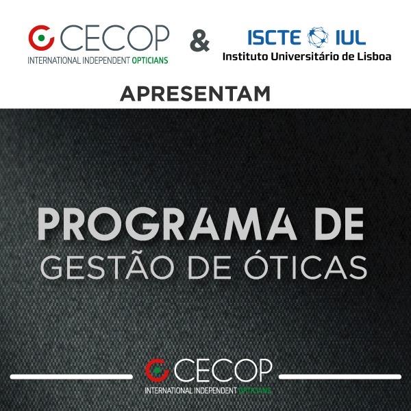 Imagem da notícia: CECOP lança curso online sobre gestão de óticas em parceria com o ISCTE