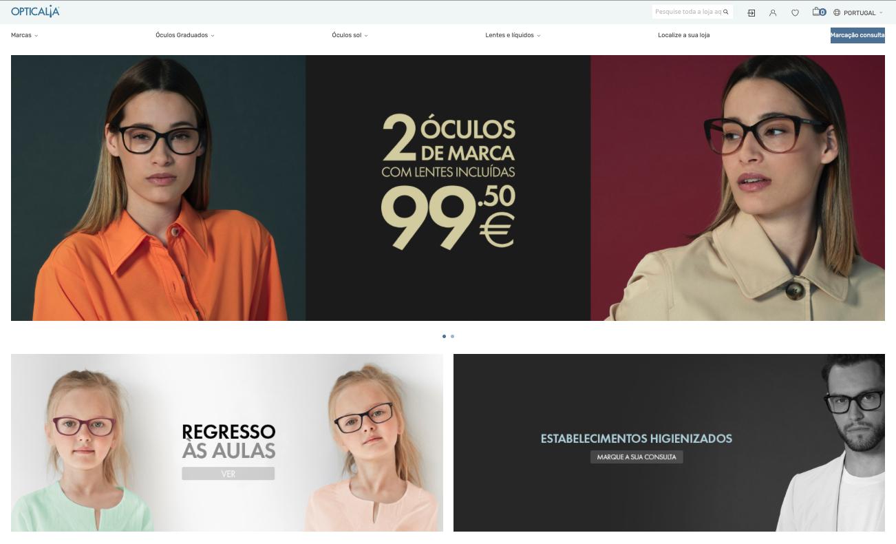 Imagem da notícia: Opticalia faz grande aposta em loja online