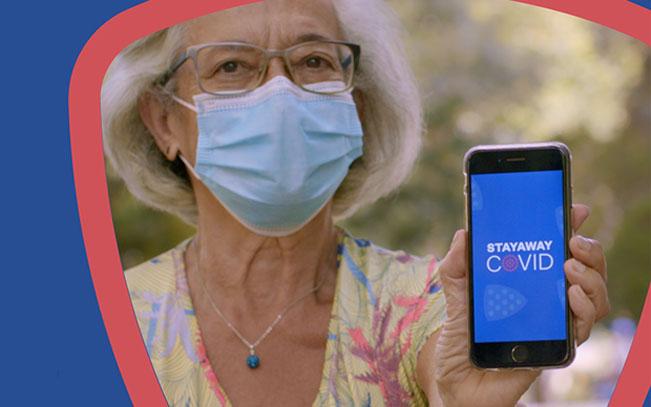 Imagem da notícia: STAYAWAY COVID, a app de rastreio automático
