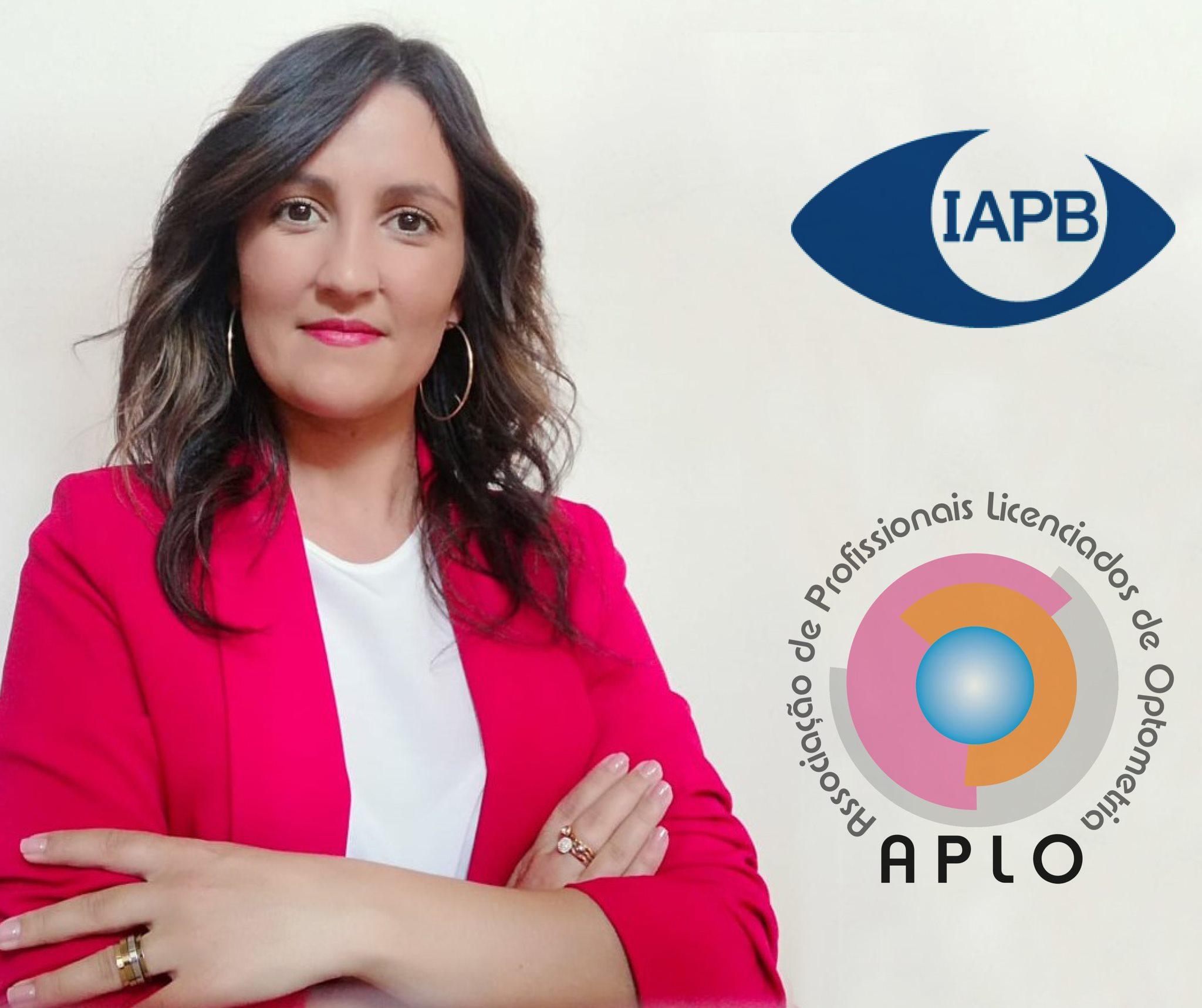 Imagem da notícia: Optometrista portuguesa ganha prémio da IAPB