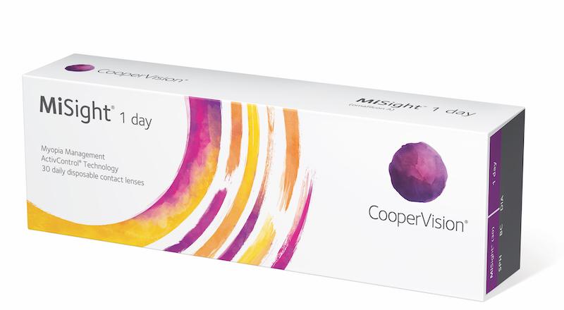 Imagem da notícia: CooperVision apresenta dados do 6º ano de estudo com as lentes MiSight® 1 Day