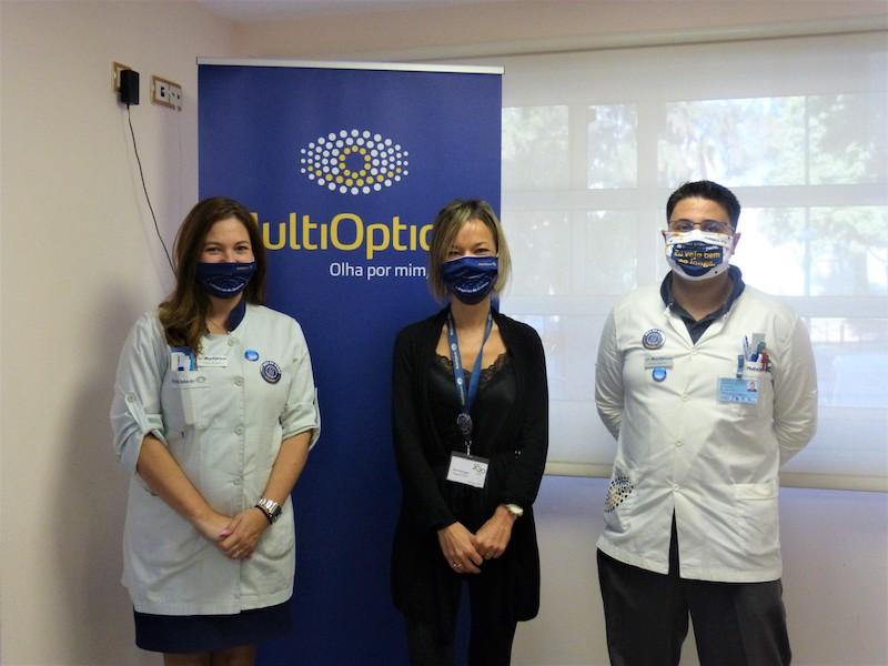Imagem da notícia: MultiOpticas junta-se ao Centro Kolbe para oferta de óculos