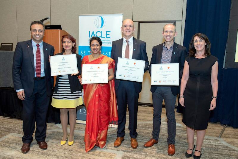 """Imagem da notícia: Inscrições abertas para o """"IACLE Contact Lens Educator of the Year"""""""