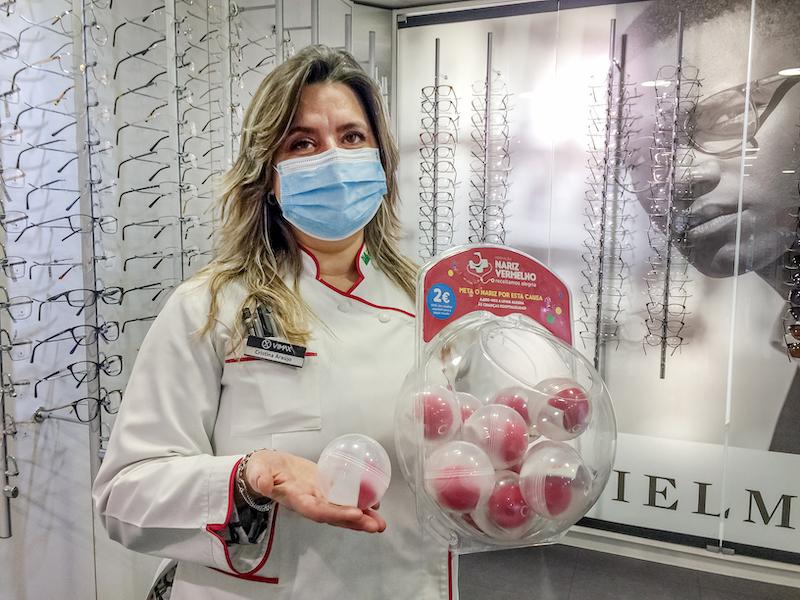 """Imagem da notícia: Prolente mete """"nariz vermelho"""" no apoio aos Doutores Palhaços"""