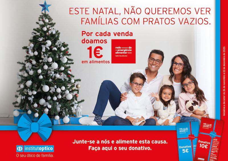 Imagem da notícia: Institutoptico apoia a Rede de Emergência Alimentar