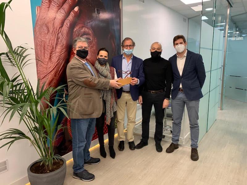 Imagem da notícia: CECOP doa 12.000 armações à ONG Abre sus Ojos