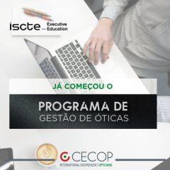Imagem da notícia: CECOP inicia o seu programa de Gestão de Óticas no ISCTE
