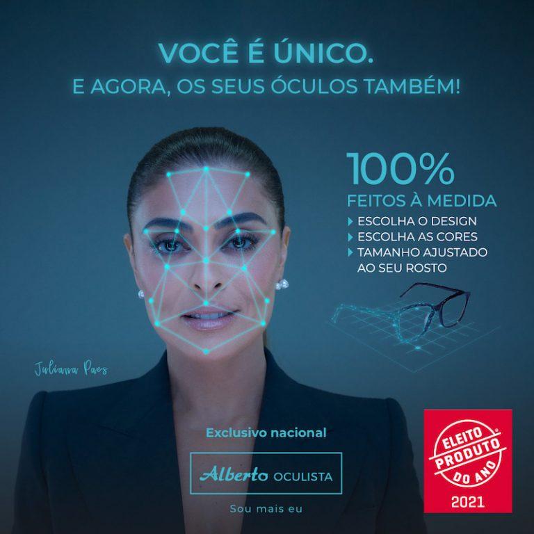 """Imagem da notícia: """"Óculos 100% à Medida"""" é Produto do Ano 2021"""