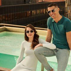 Imagem da notícia: Cristiano Ronaldo apresenta nova coleção de óculos primavera/verão