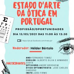 """Imagem da notícia: INETE: Debate """"O estado d'arte da Ótica em Portugal"""" acontece a 13 de maio"""