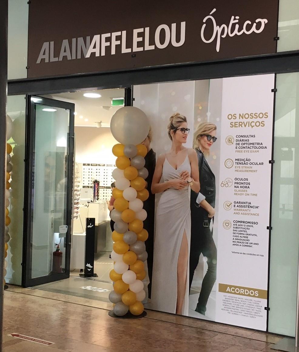 Imagem da notícia: Alain Afflelou reabre loja em Olhão com nova imagem e campanha especial