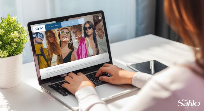 Imagem da notícia: SAFILO lança novo website corporativo