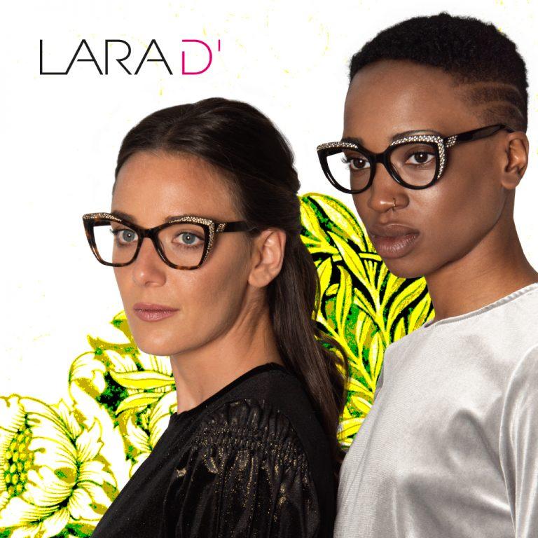 Imagem da notícia: Lara D'Alpaos lança novos modelos de óculos para mulheres