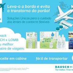Imagem da notícia: BAUSCH+LOMB apresenta os novos formatos de viagem de Biotrue® e ReNu® Advanced