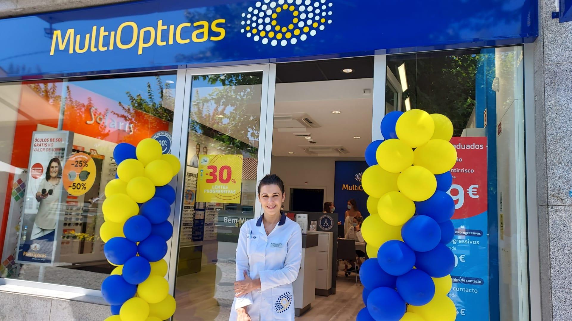 Imagem da notícia: MultiOpticas inaugura loja em Ponte da Barca
