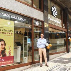 Imagem da notícia: Óculos Para Todos inaugura nova loja no centro do Porto